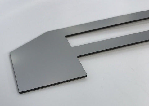 Image of 2018-2019 Ford F150 Tailgate Letter Inserts - Chrome - Front