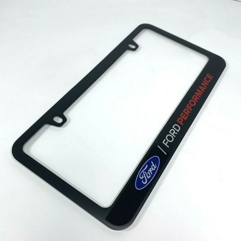 Ford Performance Premium Matte Black License Plate Frame-Live Fast Supply Company