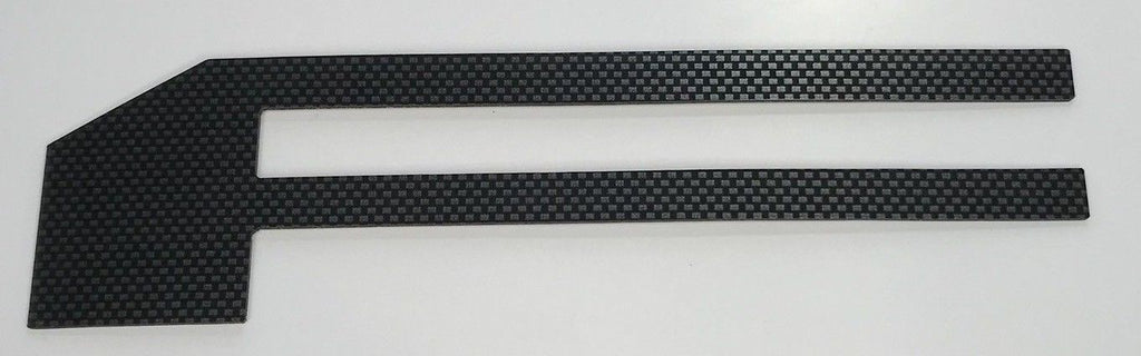 2018-2019 Ford F150 Tailgate Letter Inserts - Carbon Fiber - Front