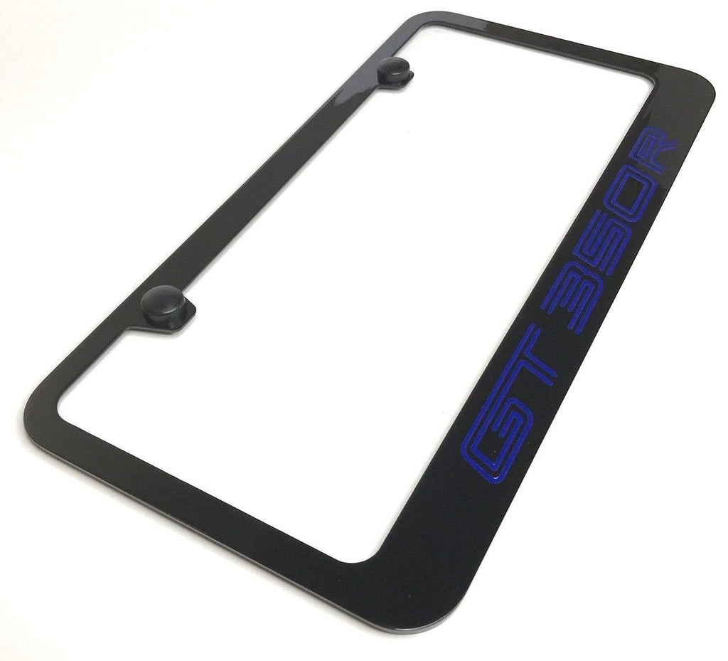 Ford GT 350R Metal License Plate Frame - R&W Speed Shop