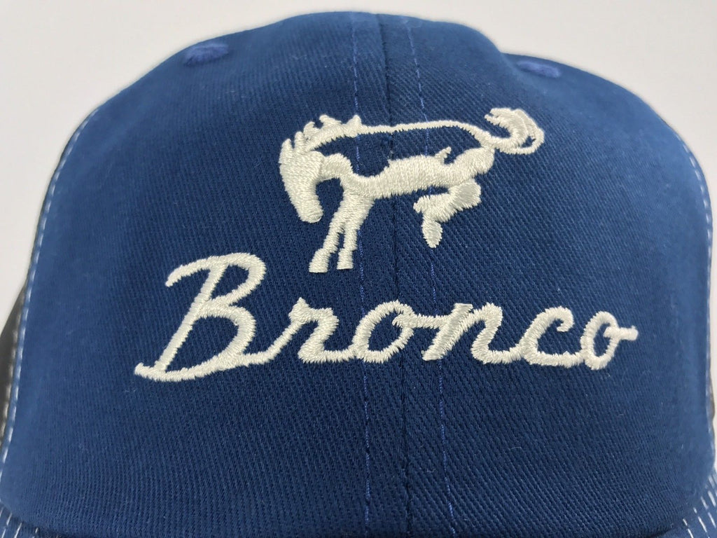 Close Up Ford Bronco Hat - Blue Bill - Live Fast Supply Company