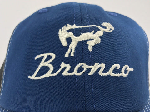 Image of Close Up Ford Bronco Hat - Blue Bill - Live Fast Supply Company