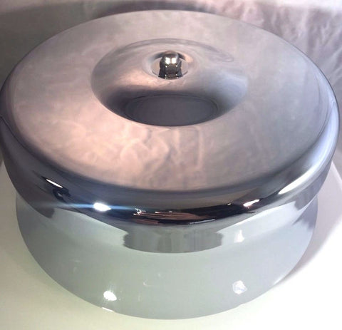 "Image of 4 Barrel Air Cleaner - Chrome 7-1/8"" Dome Style with 5-1/8"" Neck - Top"