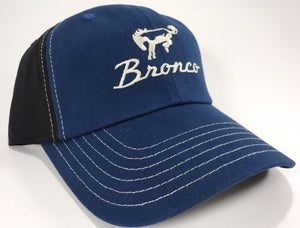 Ford Bronco Hat - Blue Bill - Live Fast Supply Company
