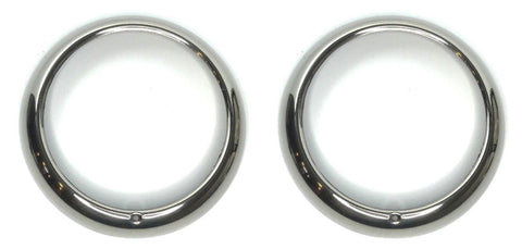 Image of Headlight Bezels for 1948-1955 Ford Pickup Trucks and 1949-1950 Mercury Passenger Cars (Main)