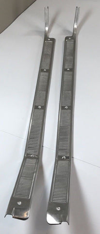 Image of Door Sill Plates For 1967-1972 Ford F-100 & F-250 Pickup Truck (Top)