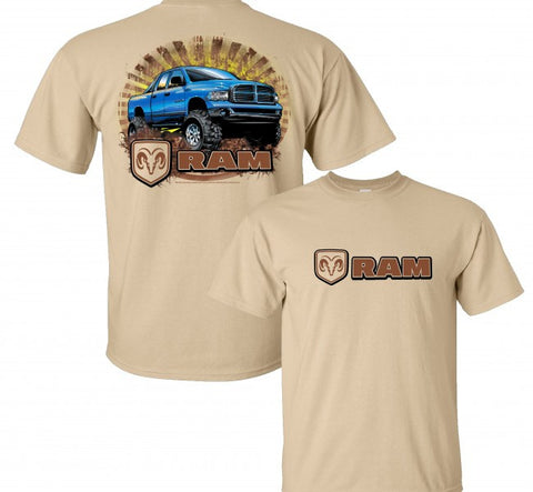 Dodge Ram Truck T Shirt - Live Fast Supply Company