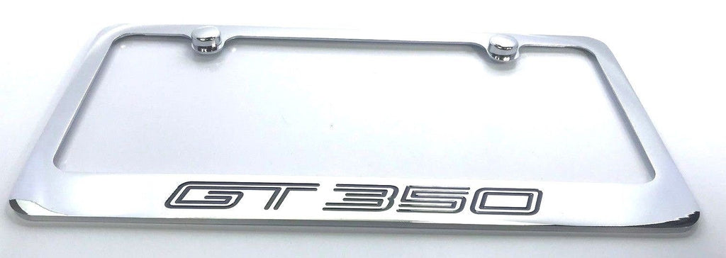 Ford Shelby Mustang GT350 License Plate Frame - Chrome