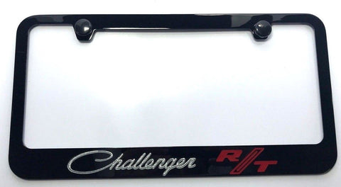 Dodge Challenger RT License Plate Frame - Black (Main)