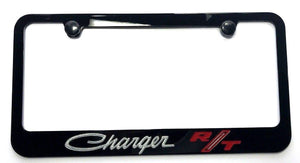 Dodge Charger R/T License Plate Frame - Black (Main)