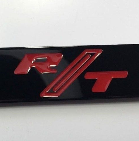 Dodge Charger R/T License Plate Frame - Black (Logo)