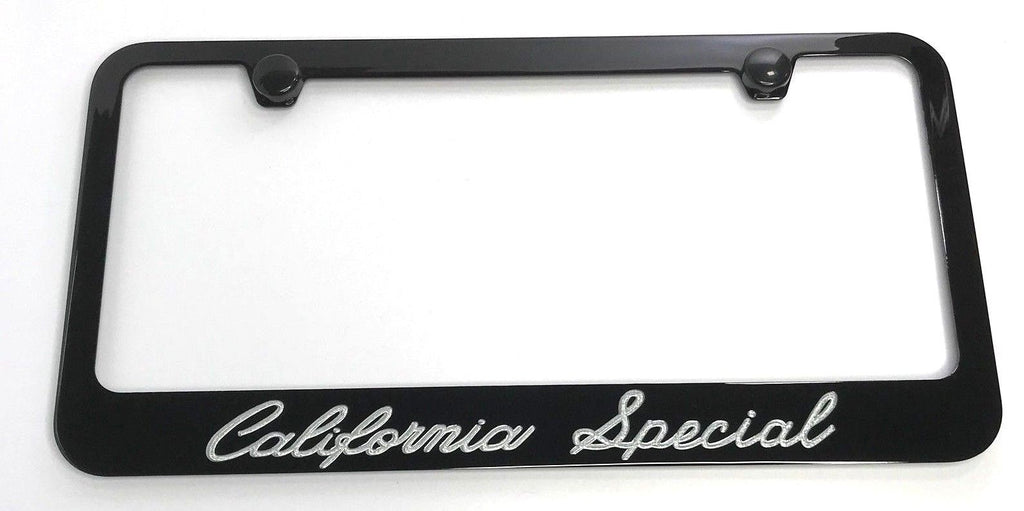 Ford Mustang California Special License Plate Frame - Black (Main)