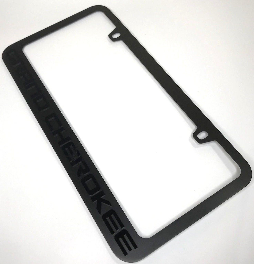 Jeep Grand Cherokee Metal License Plate Frame – R&W Speed Shop