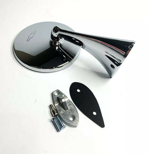 Exterior Rearview Bowtie Mirror For 1963-1967 Chevy Corvette-Live Fast Supply Company