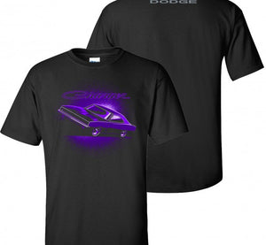 Dodge Charger T-Shirt Plum Crazy - Live Fast Supply Company