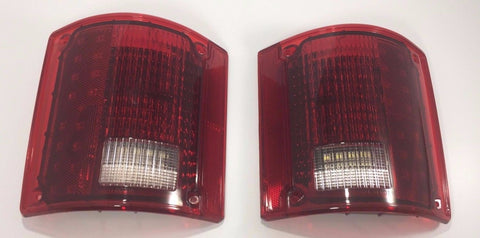 Pair 1973-87 Chevy Truck Sequential LED Tail Lights - Pair