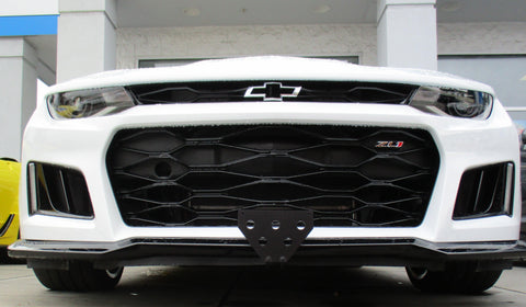 Image of Chevrolet ZL1 Camaro Removable License Plate Bracket - Main