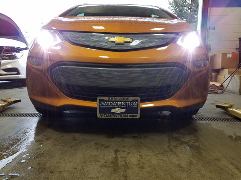 Image of Removable License Plate Bracket for 2017-2019 Chevrolet Bolt - Main