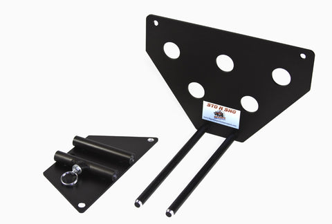 Removable License Plate Bracket for 2011-2014 Chrysler 300 - Pieces