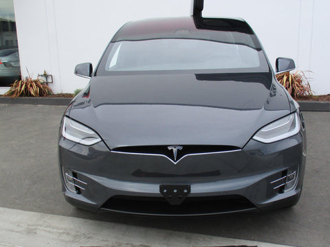 Image of Removable License Plate Bracket for 2016-2019 Tesla Model X - Main