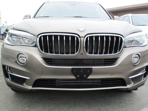 Image of Removable Front License Plate Bracket for 2017-2018 BMW X5 35i - Main