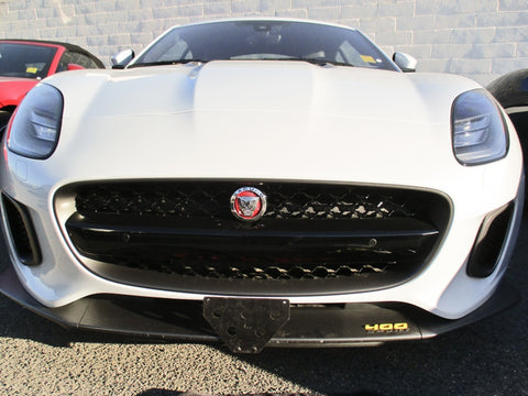 Image of Removable, No Drill License Plate Bracket for 2018-2020 Jaguar F-Type - Main