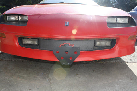 Image of Removable License Plate Bracket for 1995-97 Chevrolet Camaro Z28 - Main