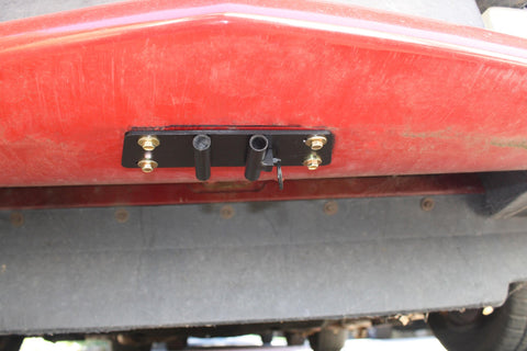 Image of Removable License Plate Bracket for 1995-97 Chevrolet Camaro Z28 - Installed