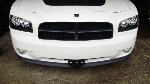 Image of Removable License Plate Bracket for 2006-2010 Dodge Charger - Main