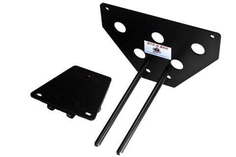 Image of Removable License Plate Bracket for 2006-2010 Dodge Charger - Parts 2