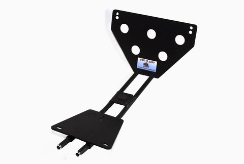 Removable License Plate Bracket for 2006-2010 Dodge Charger Super Bee/ SRT8 - Pieces