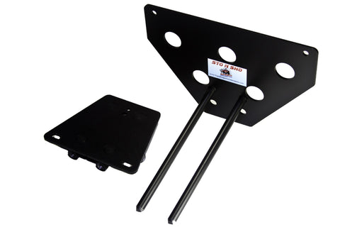 Removable License Plate Bracket for 2006 Dodge Charger Daytona - Parts 2