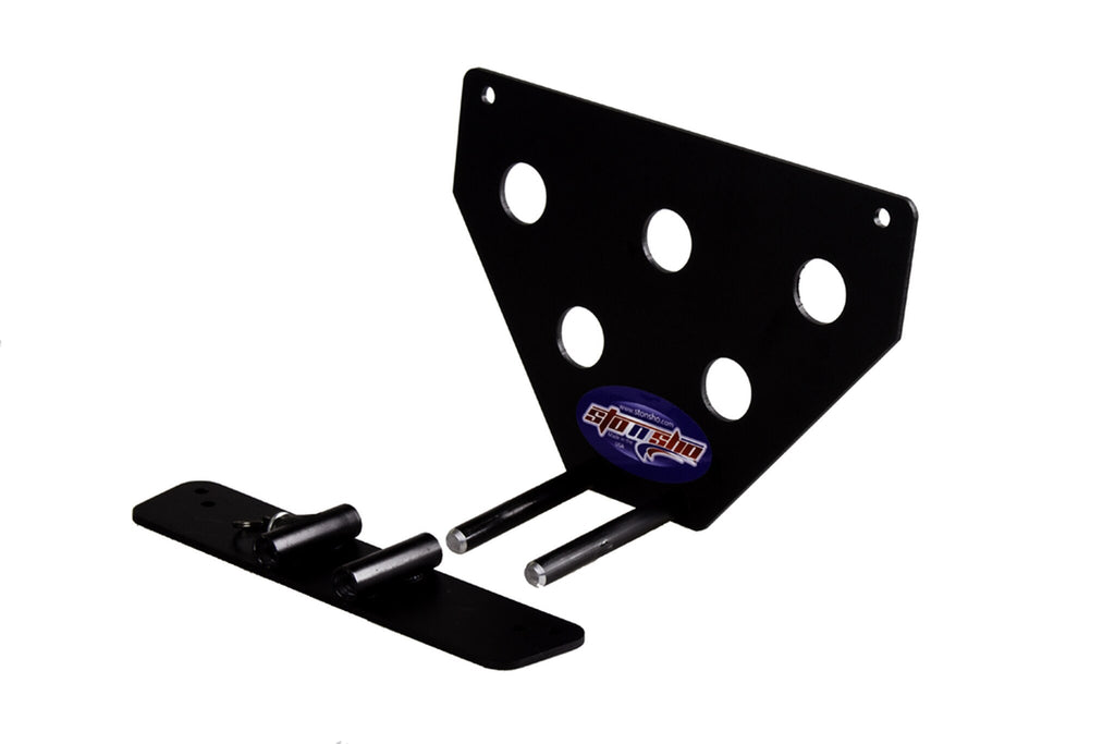 Removable License Plate Bracket for 2016-2018 Ford Focus RS - Parts 2