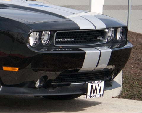 Removable Front License Plate Holder Bracket Dodge Challenger