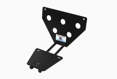 Removable License Plate Bracket for 2008-2014 Dodge Challenger - Parts 1