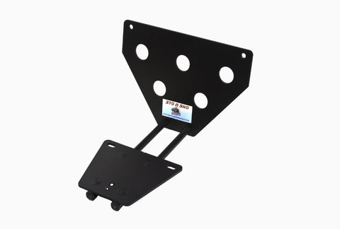 Removable License Plate Bracket for 2015-2018 Dodge Challenger (with Adaptive Cruise) - Parts 1