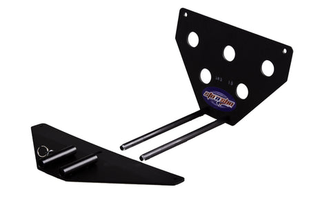 Removable, No Drill License Plate Bracket for 2015-2018 Dodge Challenger SXT, R/T, Scat Pack - Parts 2