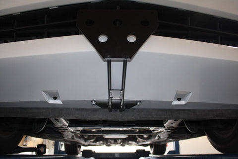 Image of Removable License Plate Bracket for 2010-2013 Camaro V6 - Installed