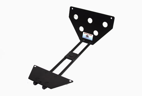 Removable License Plate Bracket for 2010-2013 Camaro V6 - Parts 1
