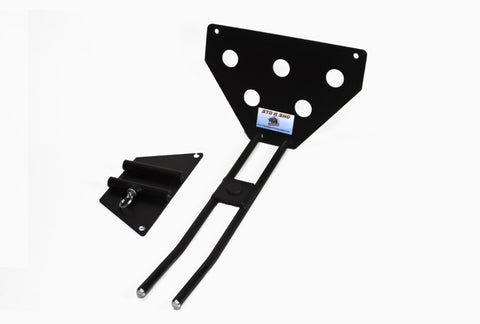 Removable License Plate Bracket for 2010-2013 Camaro V6 - Parts 2