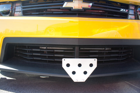 Image of Removable Front License Plate Holder Bracket Chevrolet Camaro ZL1