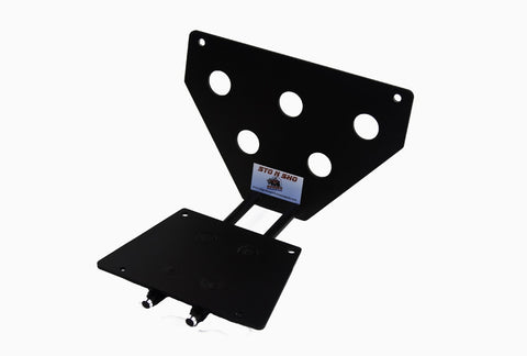 Removable License Plate Bracket for 2007-2009 Ford Mustang Shelby GT & California Special - Parts 1