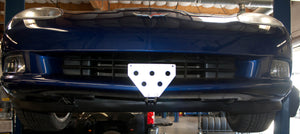 Removable Front License Plate Holder Bracket Chevrolet Corvette