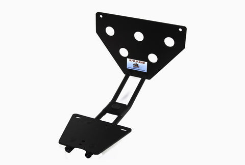 Image of Removable License Plate Bracket for 2005-2013 Chevrolet Corvette - Parts 1