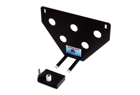 Image of Removable, No Drill License Plate Bracket for 2005-2013 Chevrolet Corvette Grand Sport, Z06, ZR1 - Parts 2