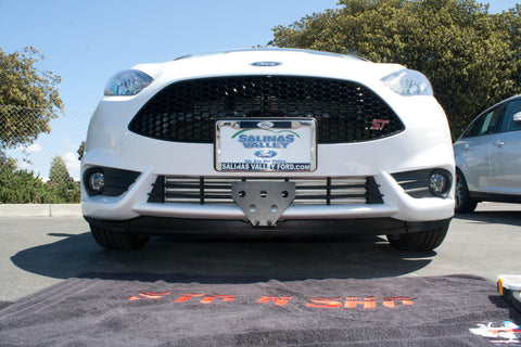 Removable License Plate Bracket for 2014-2016 Ford Fiesta ST - Installed