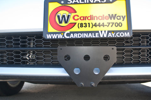 Image of Removable Front License Plate Holder Bracket Volkswagen Passat
