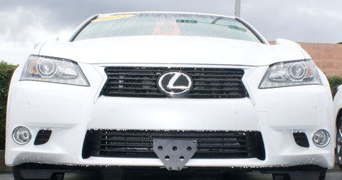 Image of Removable Front License Plate Holder Bracket Lexus GS350