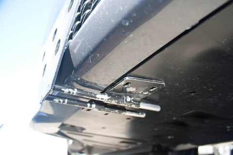 Removable License Plate Bracket for 2013-2014 Lexus GS350 F Sport - Installed