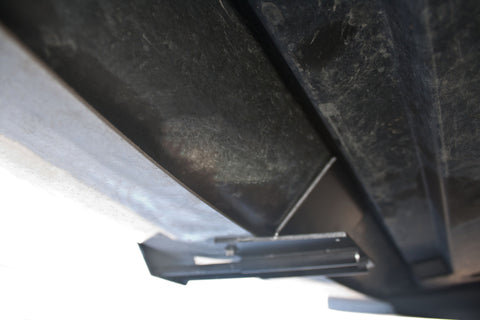 Removable License Plate Bracket for 2005-2009 Ford Mustang Saleen - Installed 2